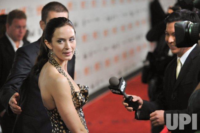 Emily Blunt attends Toronto International Film Festival