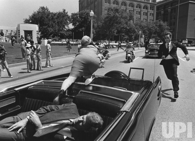 John F. Kennedy Assassination Reenactment in Houston, TX