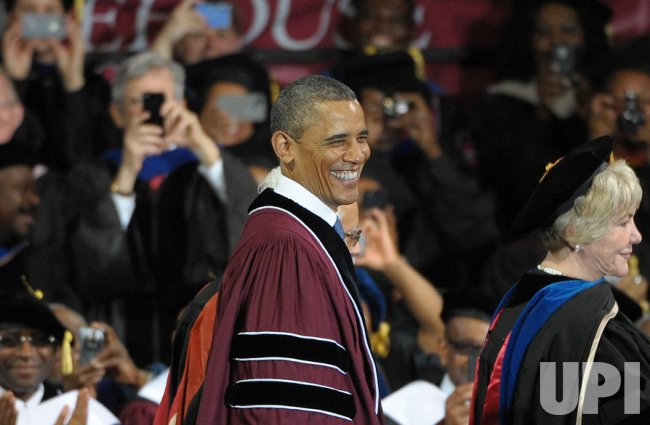 President Obama delivers Morehouse College's commencement address in Atlanta