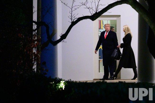President Trump departs the White House en route to Dalton, Georgia