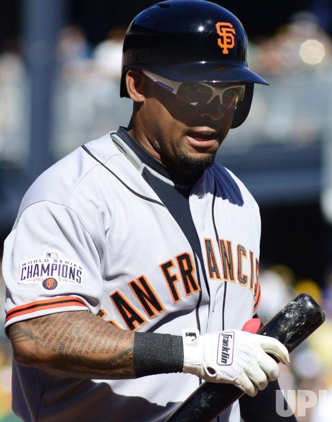 San Francisco Giants vs Pittsburgh Pirates