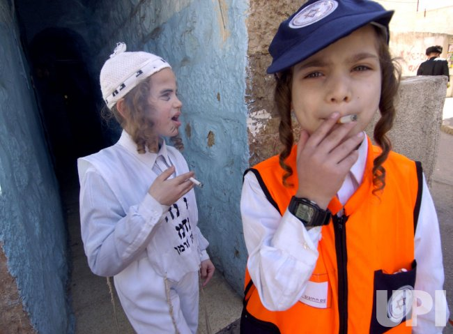 ISRAELIS CELEBRATE PURIM IN JERUSALEM