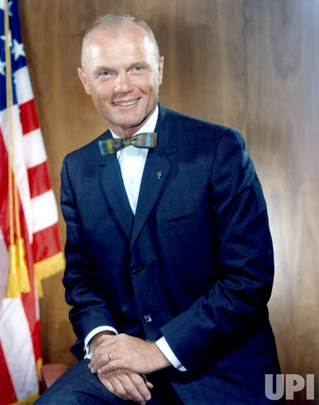 DECEMBER 1964 PORTRAIT OF JOHN GLENN