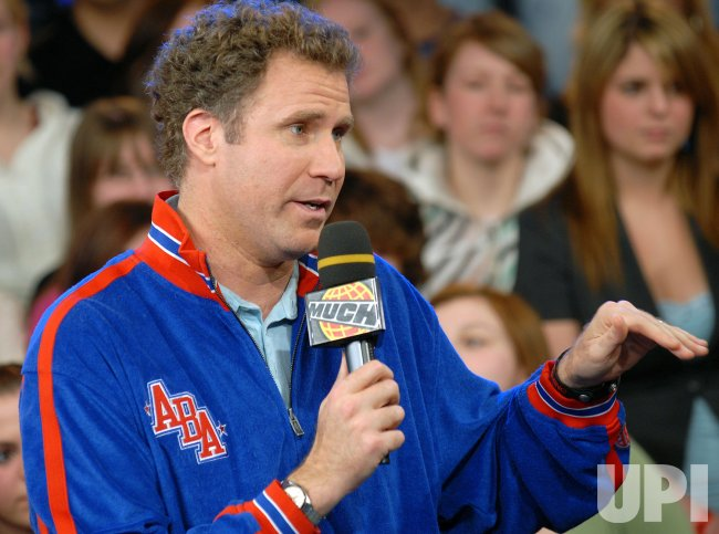 "Will Ferrell promotes new film ""Semi-Pro"""