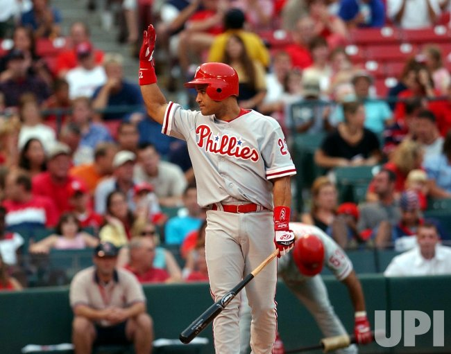 Philadelphia Phillies vs St. Louis Cardinals baseball