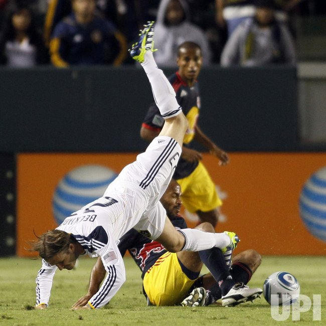 Western Conference Semifinals Game: New York Red Bulls Los Angeles Galaxy