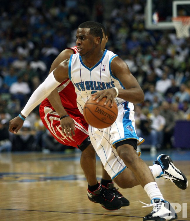 Houston Rockets vs New New Orleans Hornets in New Orleans