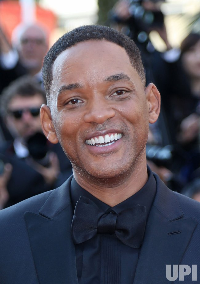 Will Smith attends the Cannes Film Festival