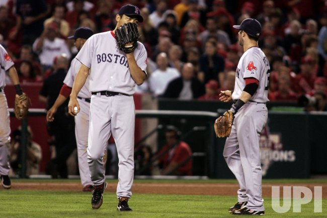 Game 1 ALDS - Boston Red Sox at Los Angeles Angels