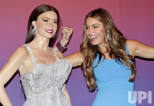 Sofia Vergara wax figures in New York