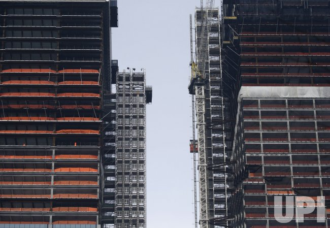 New Buildings Going Up Near Hudson Yards in New York