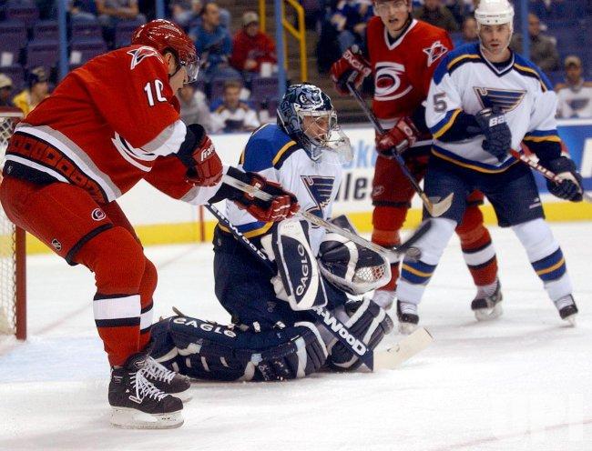 Carolina Hurricanes vs St. Louis Blues hockey