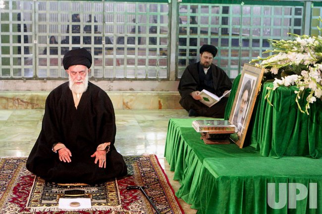 Iran's Supreme Leader pays tribute to late Imam Khomeini in Tehran