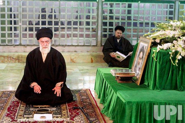 Iran's Supreme Leader pays tribute to late Imam Khomeini in Tehran