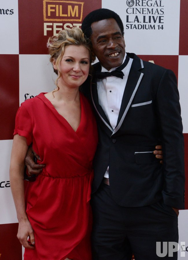 "Dwight Henry and Lucy Alibar attend the ""Beasts of the Southern Wild"" premiere in Los Angeles"