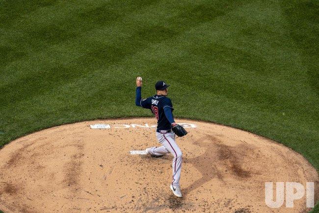 Atlanta Braves starting pitcher Drew Smyly