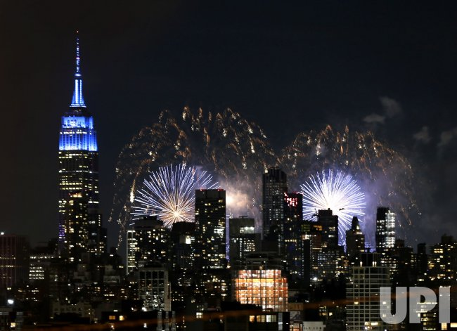 Macy's Fourth of July Fireworks Display in New York