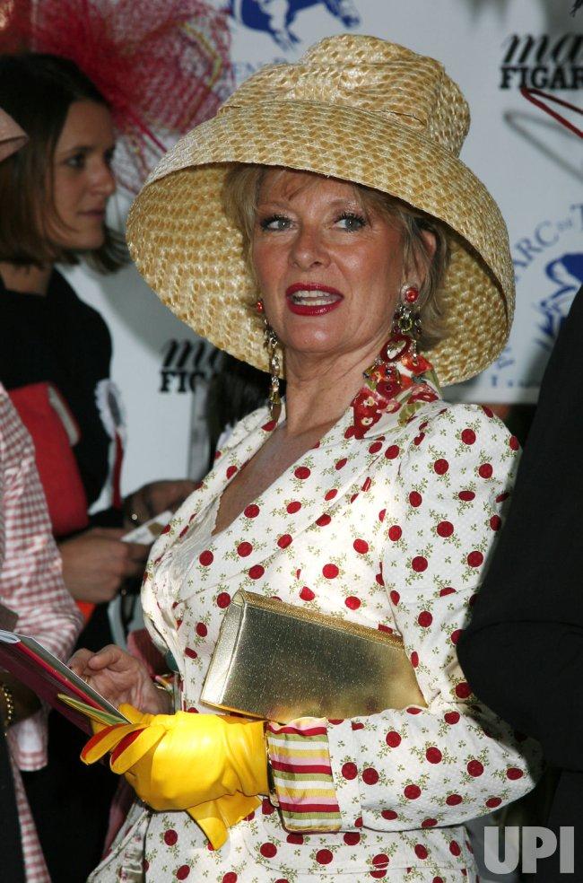Hat contest at the Prix de l'Arc de Triomphe in Paris