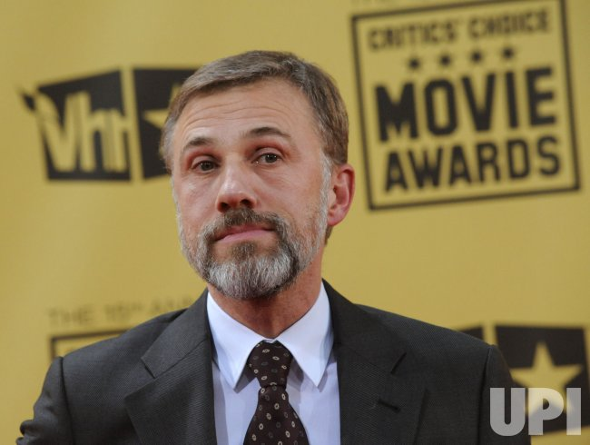 Christoph Waltz attends the 15th annual Critics' Choice Movie Awards in Los Angeles