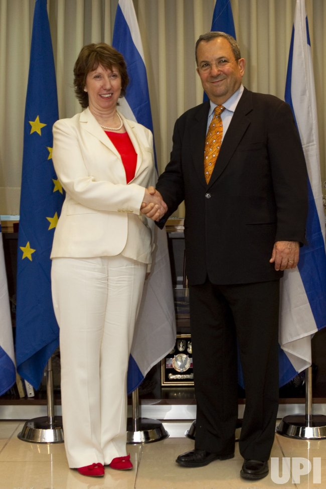 European Union Foreign Policy Chief Catherine Ashton in Tel Aviv