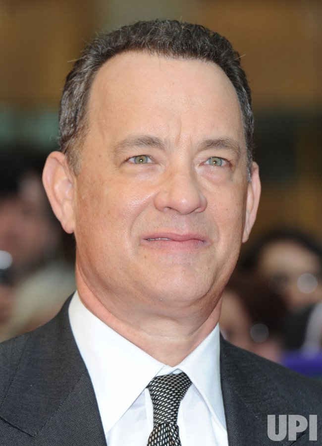 "Tom Hanks attends ""Larry Crowne"" world premiere in London"