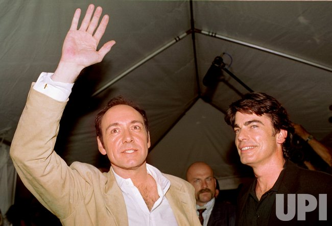 Actors Kevin Spacey and Peter Gallagher at the Toronto International Film Festival