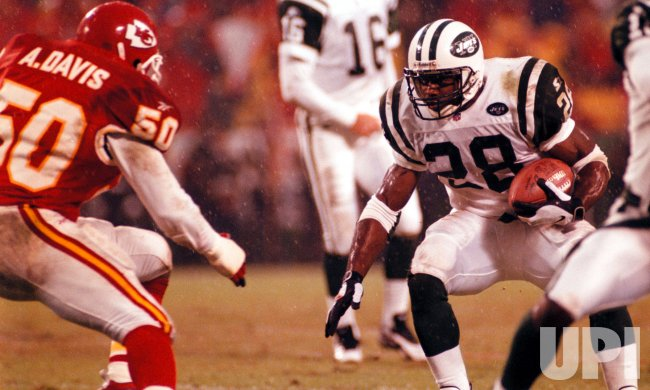 Kansas City Chiefs vs. New York Jets football