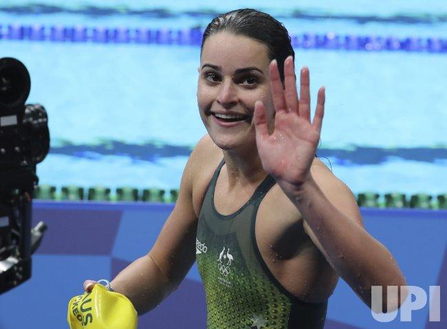 Australia's McKeown wins with Olympic record 57.47 Women's ...