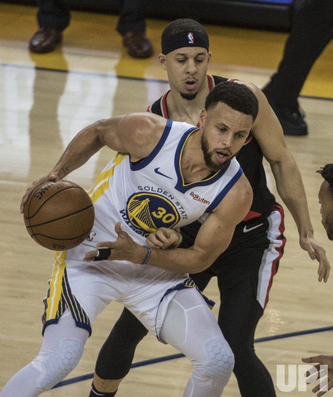 Nba Playoffs 2019 Nuggets Vs Trail Blazers Game 6 Tv: Curry Vs, Curry In Conference Finals