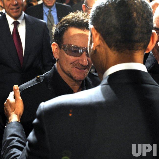 Obama speaks on World AIDS Day in Washington