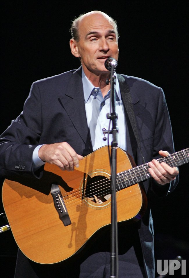 Carole King and James Taylor perform in concert in Sunrise, Florida
