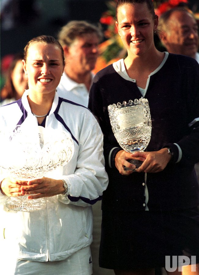 Lindsey Davenport and Martina Hingis