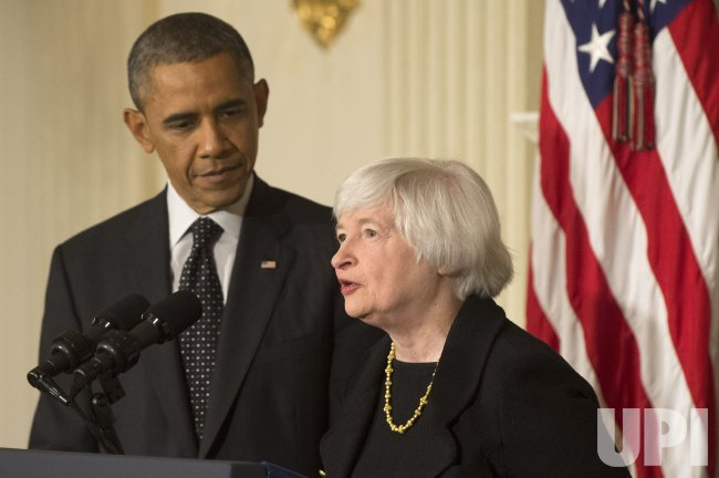 President Obama announces Janet Yellen to head the Federal Reserve in Washington