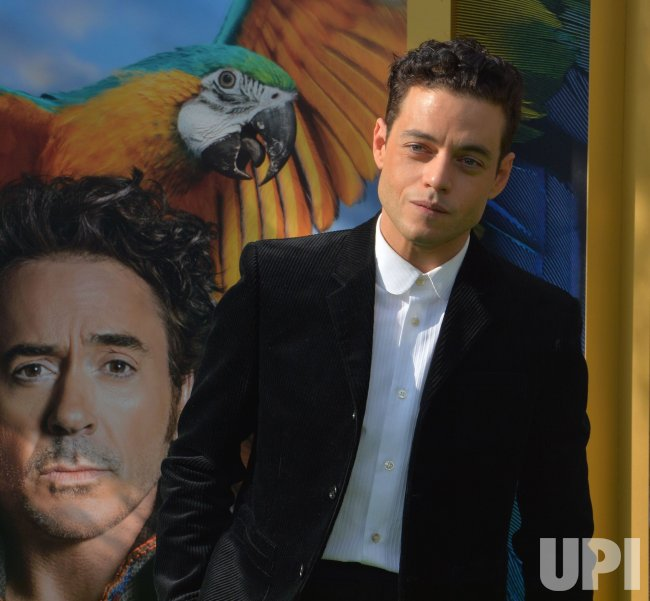 "Rami Malek attends the ""Dolittle"" premiere in Los Angeles"