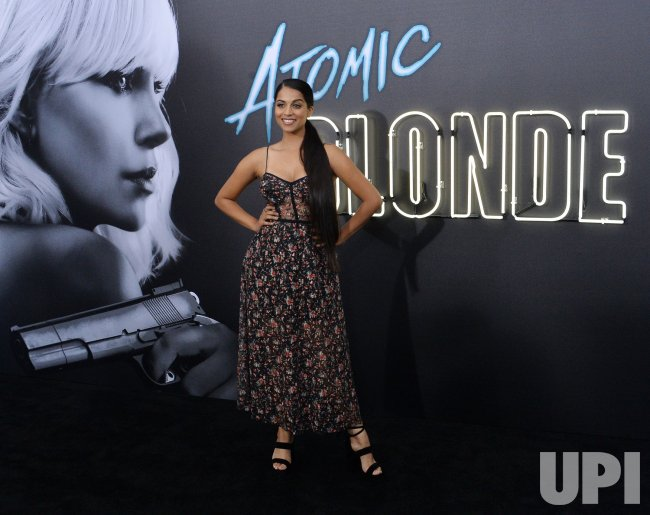 """Lilly Singh attends the """"Atomic Blonde"""" premiere in Los Angeles"""