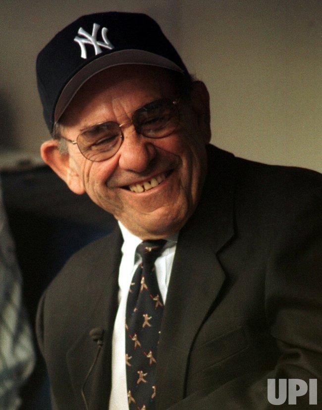 Yogi Berra returns to Yankee Stadium after 14 years