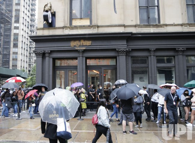 World's First Official 'Harry Potter' Flagship Store Opens in New York