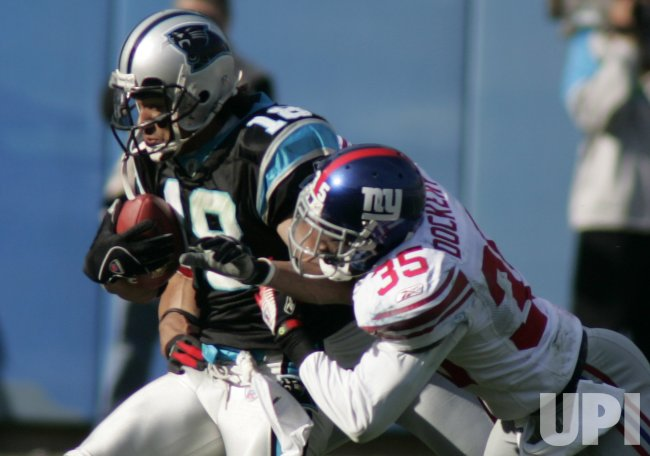 CAROLINA PANTHERS VS NEW YORK GIANTS