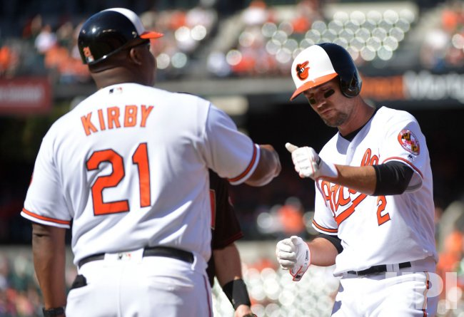 Orioles' Hyun Soo Kim hits a two-run home run