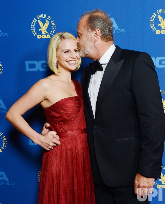 Kelsey Grammer and Kayte Walsh attend the 65th annual DGA Awards in Los Angeles