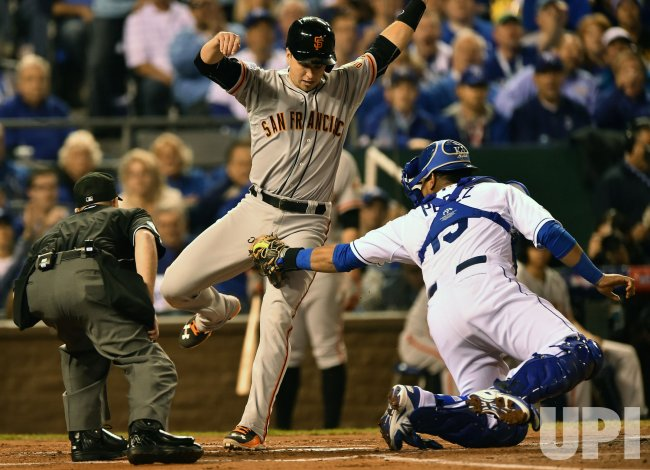 World Series Game 1 San Francisco Giants vs. Kansas City Royals