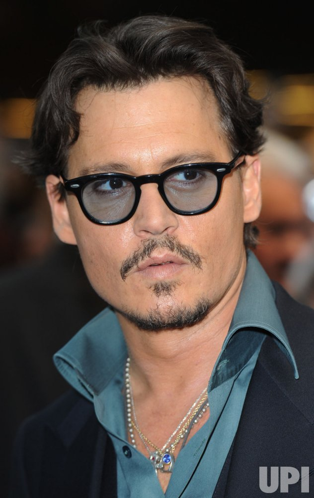 "Johnny Depp attends ""Pirates of the Caribbean: on stranger tides"" premiere in London"