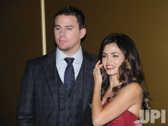 "Channing Tatum and Jenna Dewan attend the European premiere of ""Magic Mike"" in London"