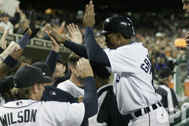 DETROIT TIGERS VS NEW YORK YANKEES ALDS