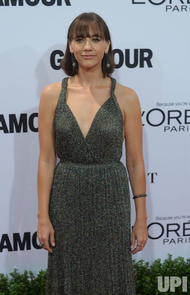 Rashida Jones attends the Glamour Women of the Year gala in Los Angeles