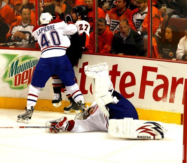 Montreal Canadiens vs Philadelphia Flyers