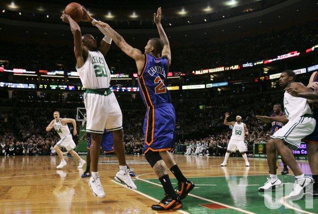New York Knicks vs Boston Celtics