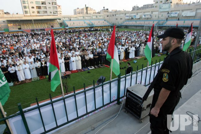 Muslims Celebrate Eid al-Fitr in Gaza