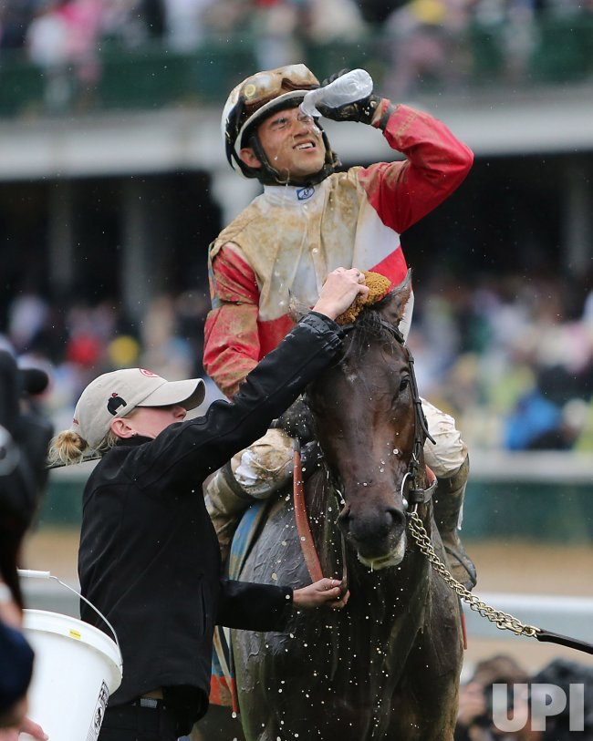 Orb wins the 139th Kentucky Derby in Louisville, Kentucky