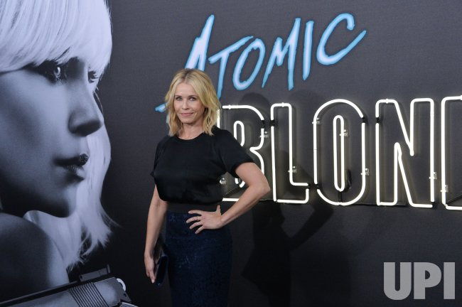 "Chelsea Handler attends the ""Atomic Blonde"" premiere in Los Angeles"